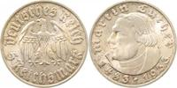 d 2.0 5 RM 35333F~2.0 5 Reichsmark  1933F Luther vz J 353