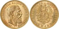 d 1.2 10 Mark 24788A~  Friedrich III. 1888A GOLD f. stgl !! TOP 247